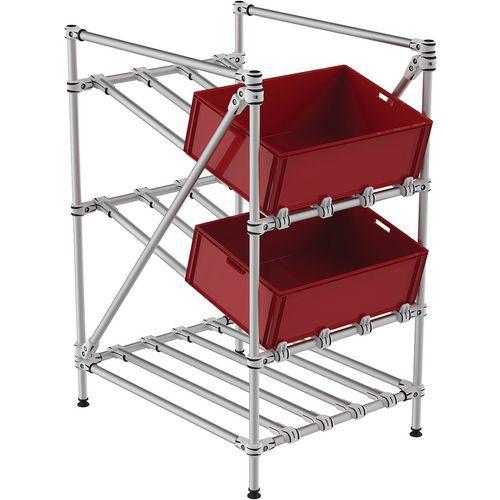 Mini-rack de recolha tubular Fifo – Trilogiq