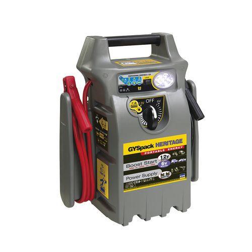 Arrancador autónomo GYSPACK HERITAGE – 6/12V
