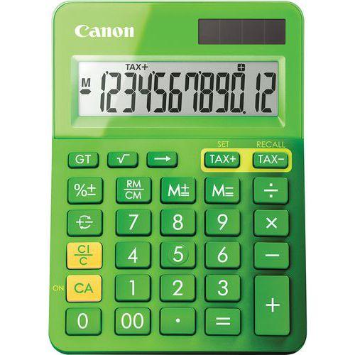 Calculadora de 12 dígitos LS-123K-MGR Canon – verde