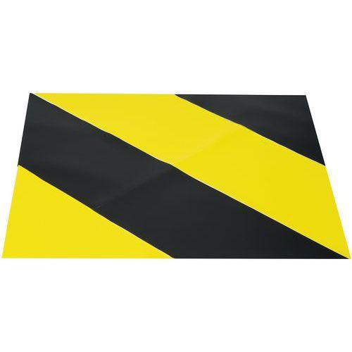 Fita adesiva de marcação de pavimento – Zona bicolor – 900 x 900mm – Gergosign
