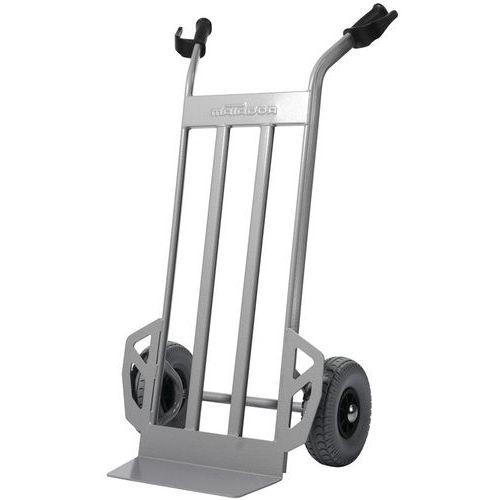 Porta-cargas aço - Rodas antifuros - Capacidade 350 kg