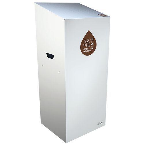 Caixote de lixo de separação Uno – compostável – abertura fechada – 20L
