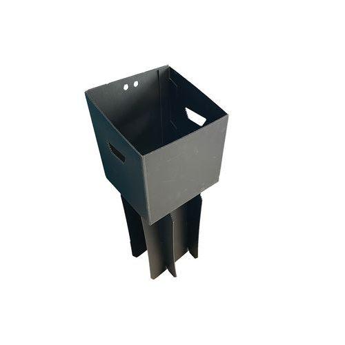 Suporte elevatório para resíduos pesados e caixote de lixo de separação Uno – 110L