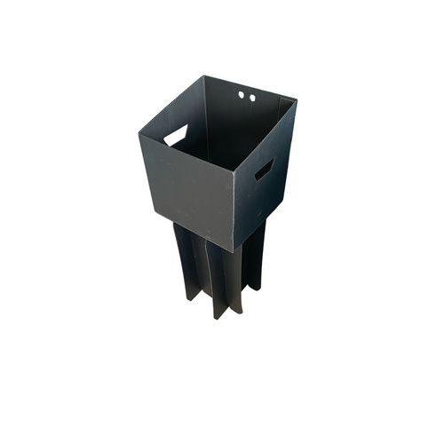 Suporte elevatório para resíduos pesados e caixote de lixo de separação Uno – 65L