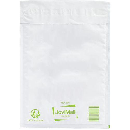 Envelopes almofadados com plástico de bolhas 100% recicláveis