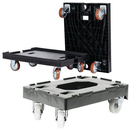 Plataforma móvel para caixa de norma europeia – 250 e 450kg