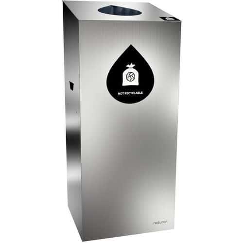 Caixote de lixo de separação Uno – abertura gota – 110L
